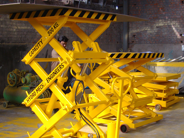 Scissor Lift Mobile
